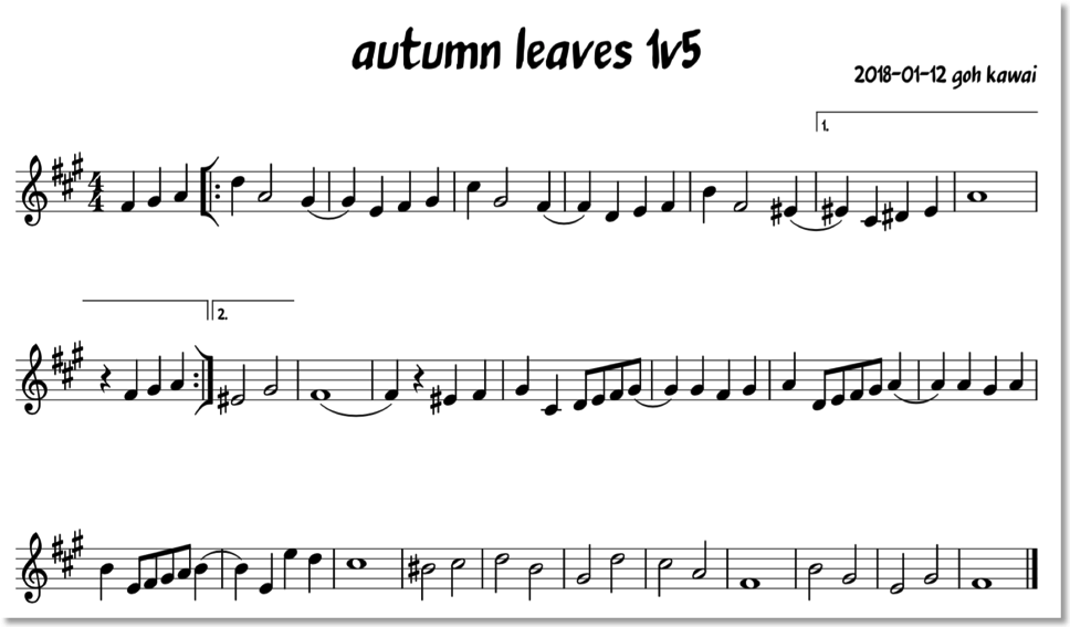 180112autumn Leaves1v5: Sheet Music Animal Collective At Alzheimers-prions.com